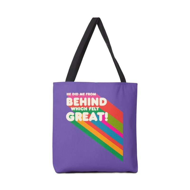 It Felt Great! Accessories Bag by EctoplasmShow's Artist Shop