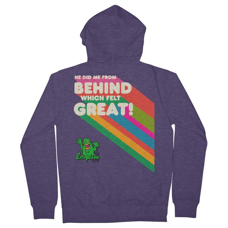 It Felt Great! Men's Zip-Up Hoody by EctoplasmShow's Artist Shop