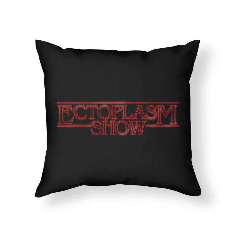 Stranger Ectoplasm Home Throw Pillow by EctoplasmShow's Artist Shop