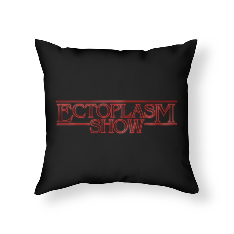 Stranger Ectoplasm Home Throw Pillow by EctoplasmShow's Artist Shop
