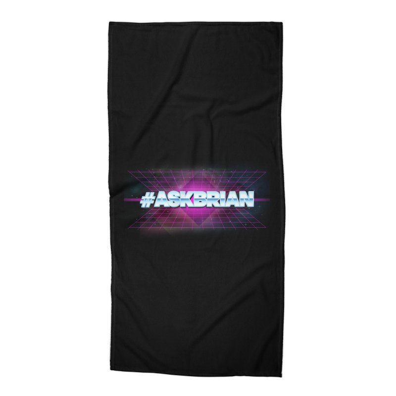 ASKBRIAN Accessories Beach Towel by EctoplasmShow's Artist Shop