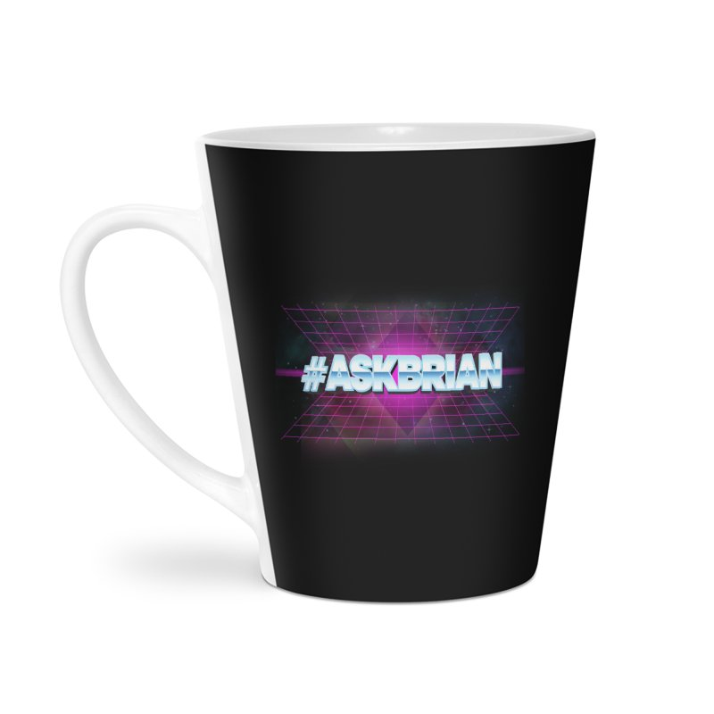 ASKBRIAN Accessories Latte Mug by EctoplasmShow's Artist Shop
