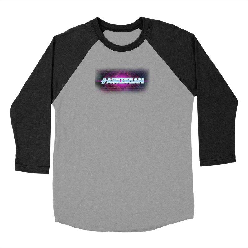 ASKBRIAN Men's Baseball Triblend Longsleeve T-Shirt by EctoplasmShow's Artist Shop