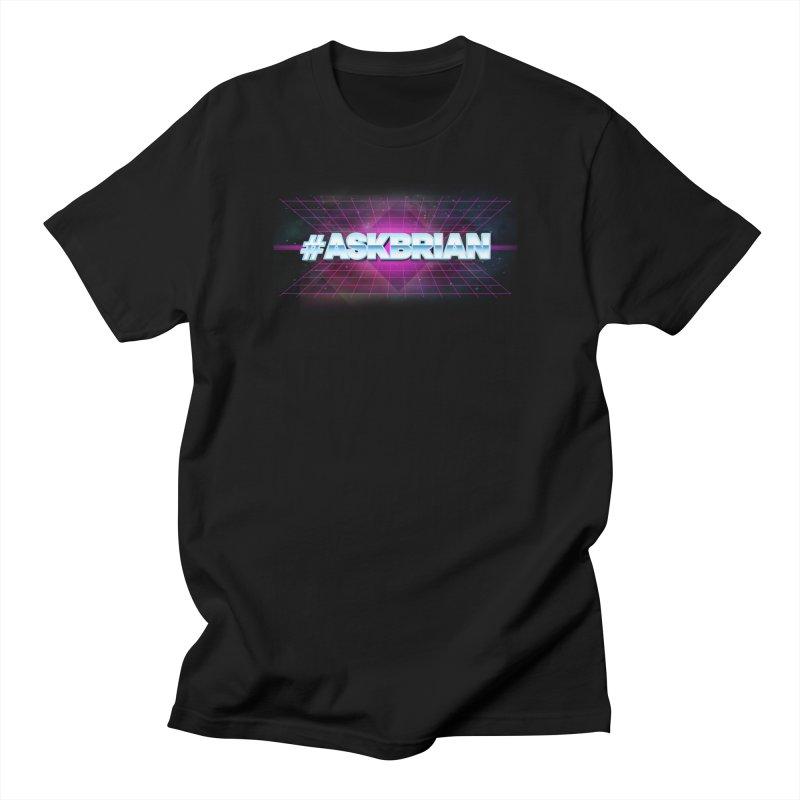 ASKBRIAN Men's T-Shirt by EctoplasmShow's Artist Shop