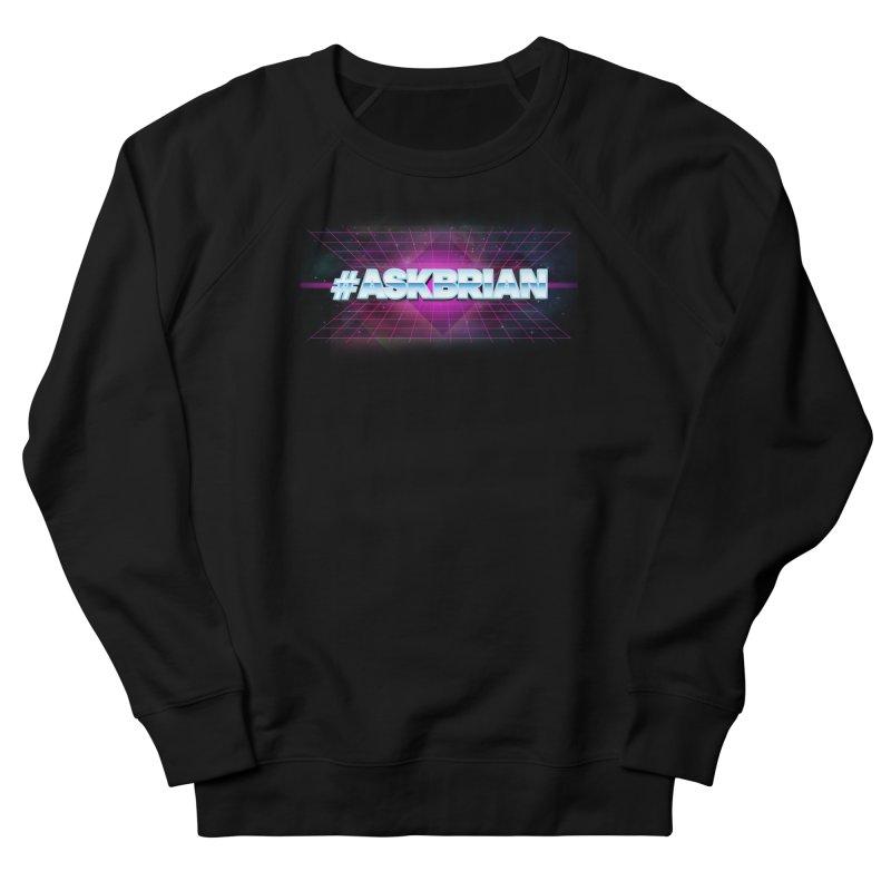 ASKBRIAN Men's French Terry Sweatshirt by EctoplasmShow's Artist Shop