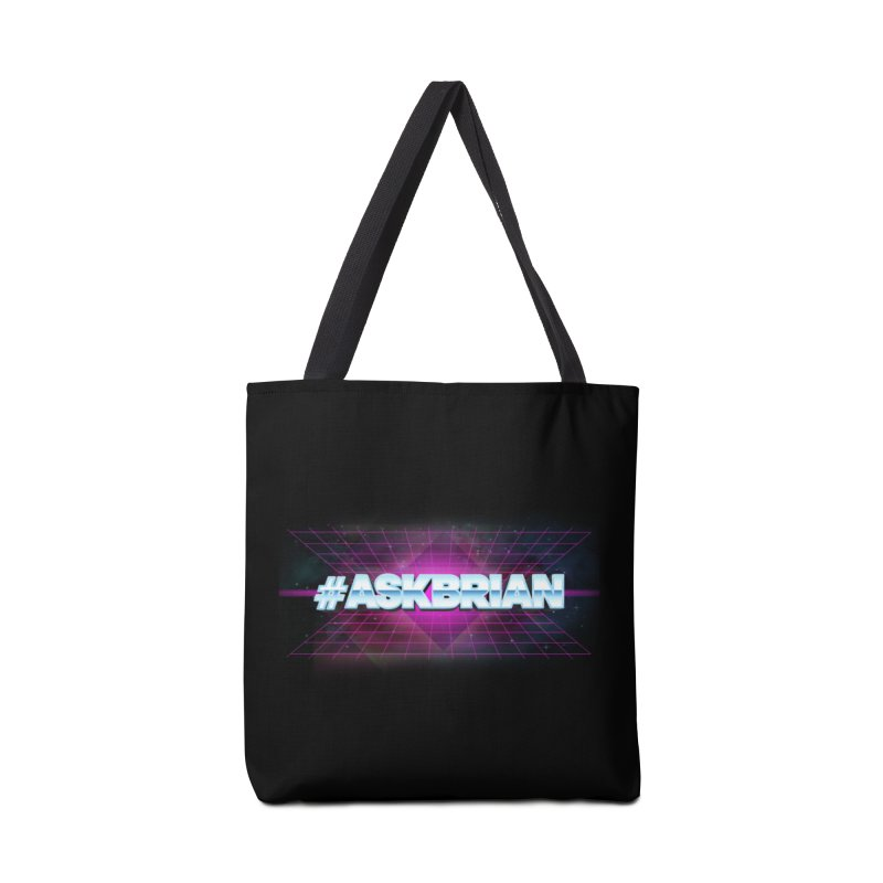 ASKBRIAN Accessories Tote Bag Bag by EctoplasmShow's Artist Shop