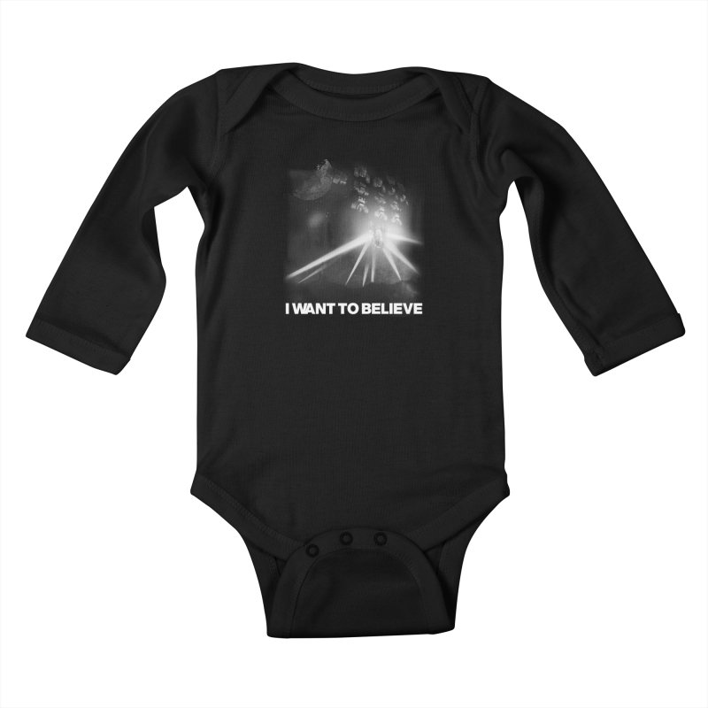 Invasion Kids Baby Longsleeve Bodysuit by EctoplasmShow's Artist Shop