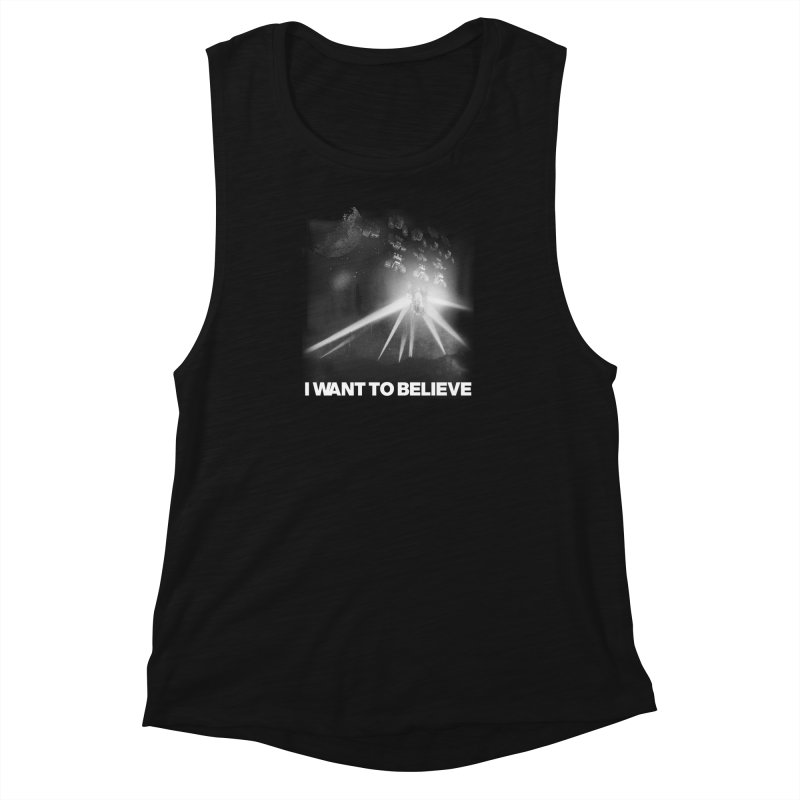 Invasion Women's Muscle Tank by EctoplasmShow's Artist Shop