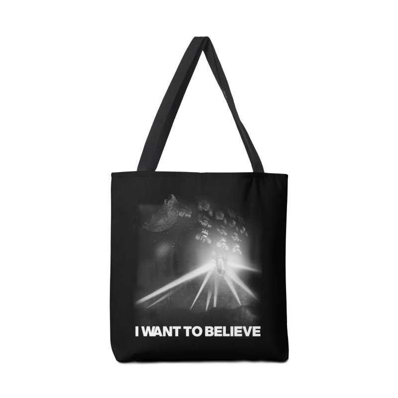 Invasion Accessories Tote Bag Bag by EctoplasmShow's Artist Shop