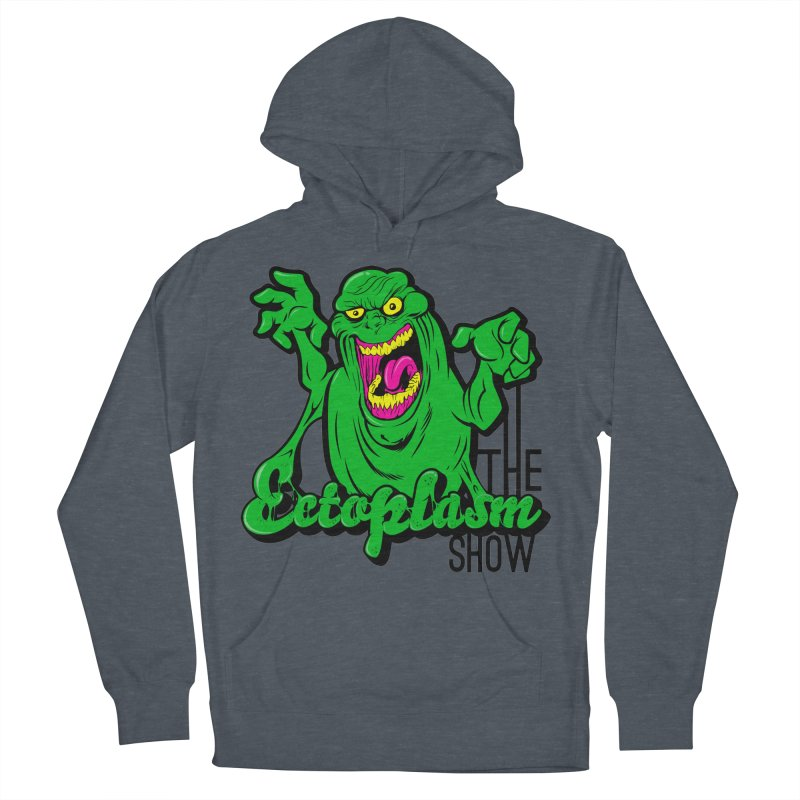 Classic Logo Women's French Terry Pullover Hoody by EctoplasmShow's Artist Shop