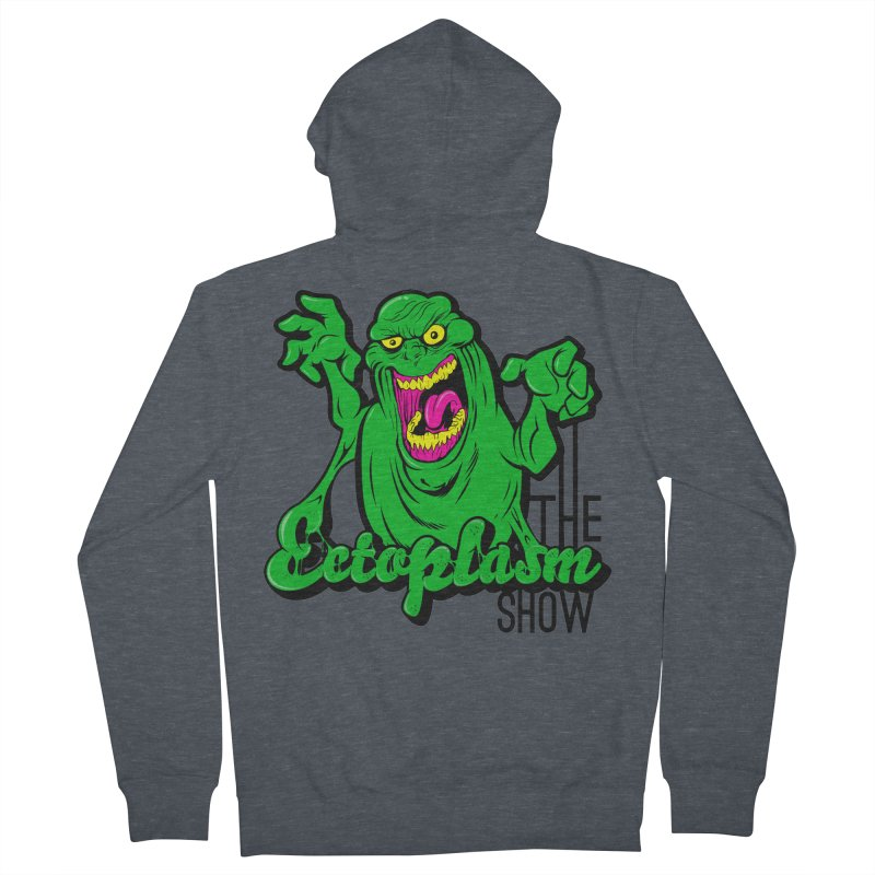 Classic Logo Women's French Terry Zip-Up Hoody by EctoplasmShow's Artist Shop