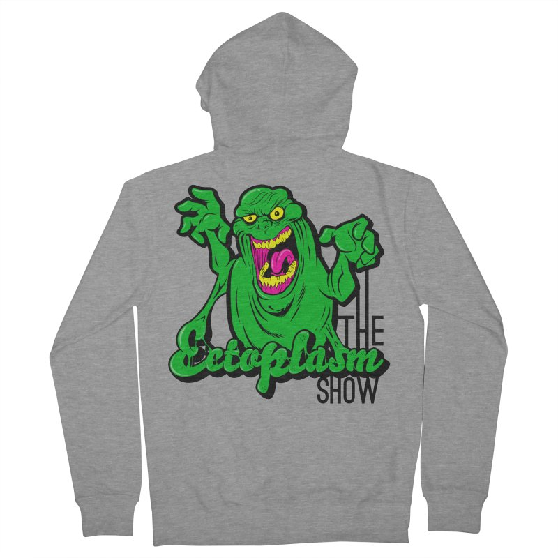 Classic Logo Men's French Terry Zip-Up Hoody by EctoplasmShow's Artist Shop