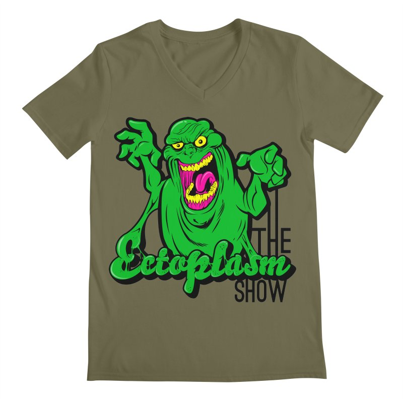 Classic Logo Men's Regular V-Neck by EctoplasmShow's Artist Shop