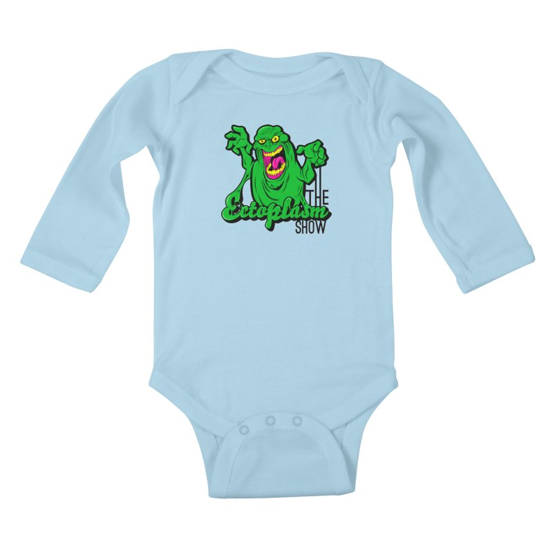 Classic Logo Kids Baby Longsleeve Bodysuit by EctoplasmShow's Artist Shop