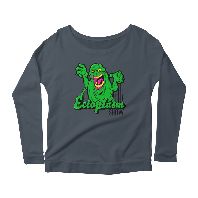 Classic Logo Women's Scoop Neck Longsleeve T-Shirt by EctoplasmShow's Artist Shop