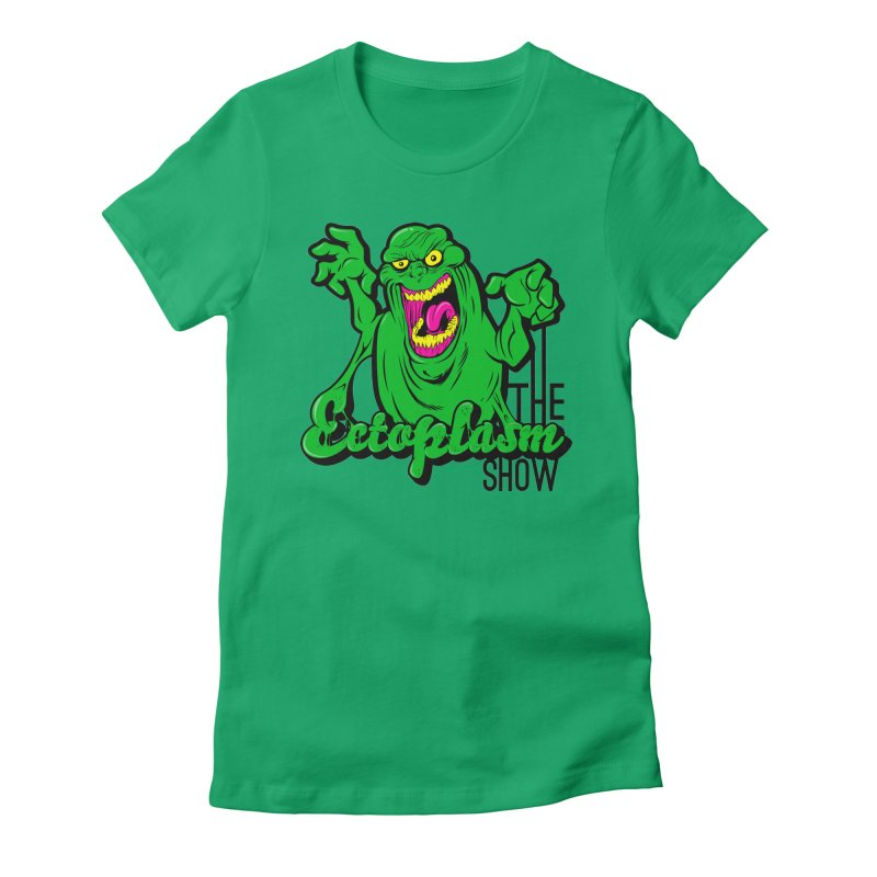 Classic Logo Women's Fitted T-Shirt by EctoplasmShow's Artist Shop