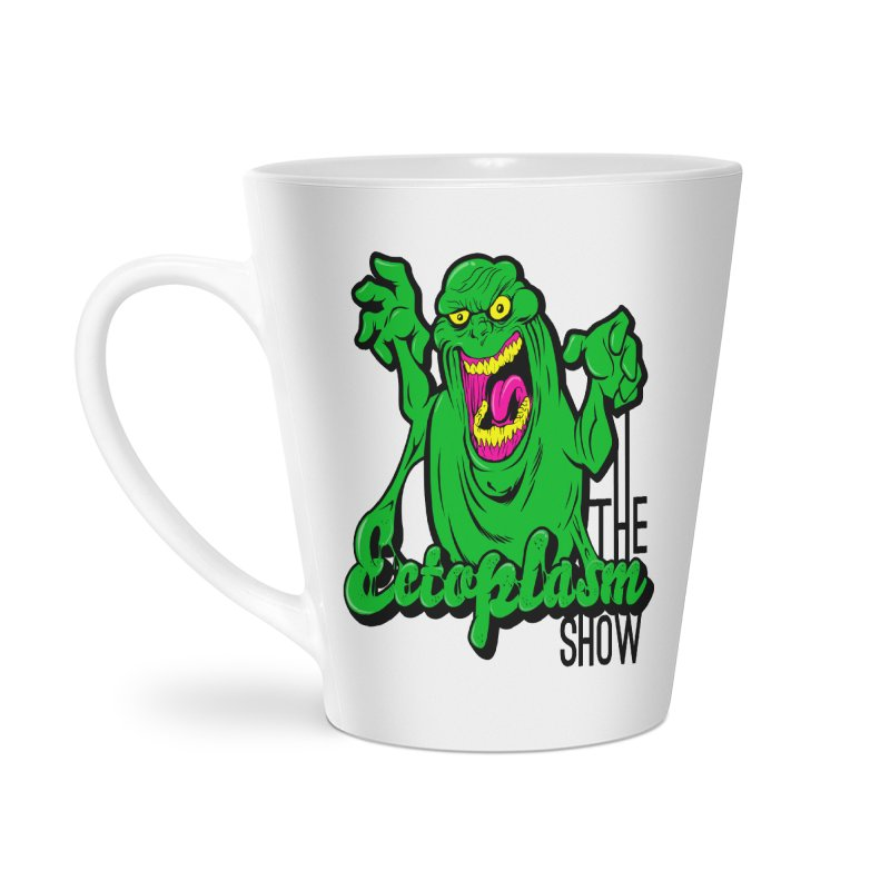 Classic Logo Accessories Latte Mug by EctoplasmShow's Artist Shop