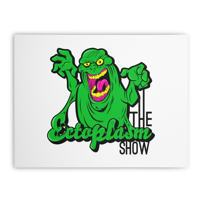 Classic Logo Home Stretched Canvas by EctoplasmShow's Artist Shop