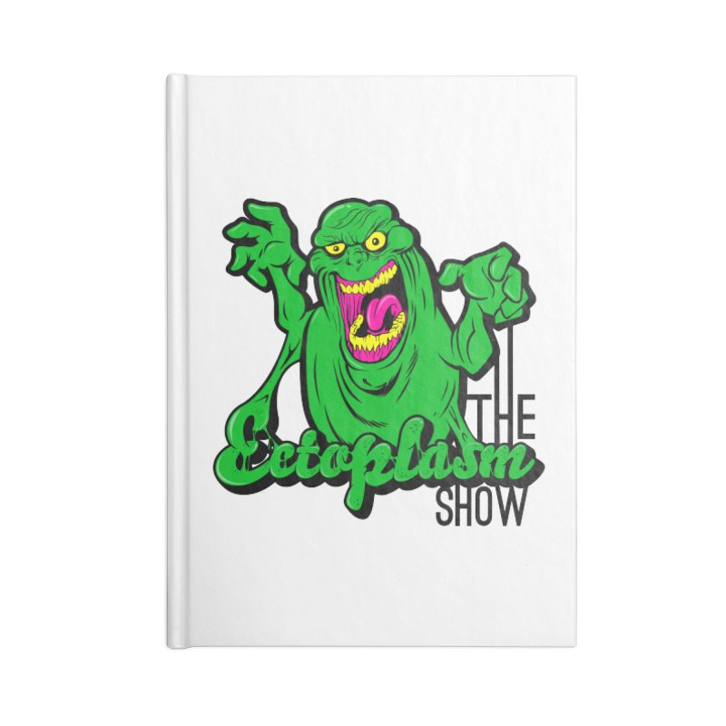 Classic Logo Accessories Blank Journal Notebook by EctoplasmShow's Artist Shop