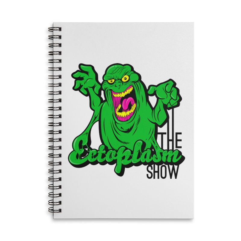Classic Logo Accessories Lined Spiral Notebook by EctoplasmShow's Artist Shop
