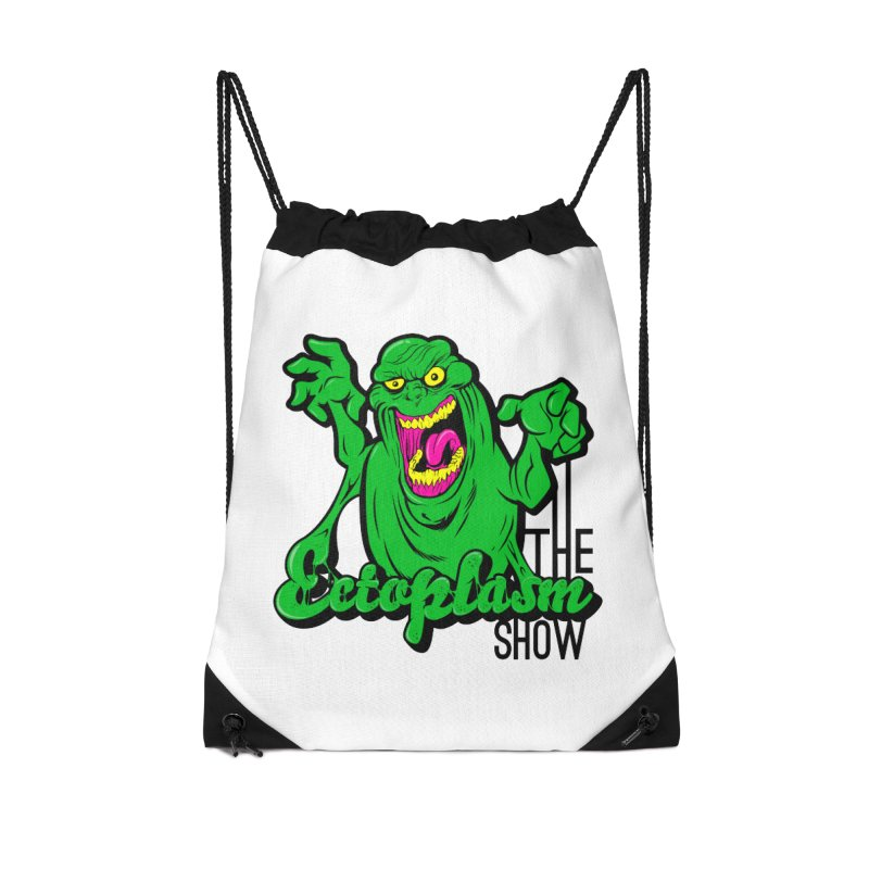 Classic Logo Accessories Drawstring Bag Bag by EctoplasmShow's Artist Shop