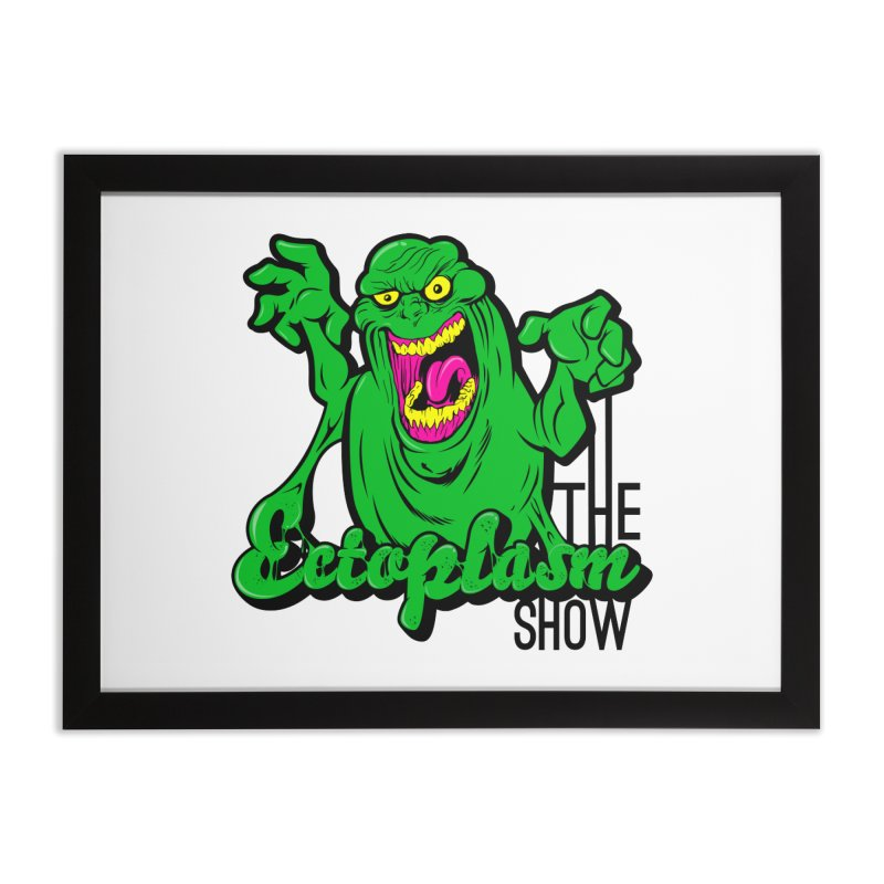 Classic Logo Home Framed Fine Art Print by EctoplasmShow's Artist Shop