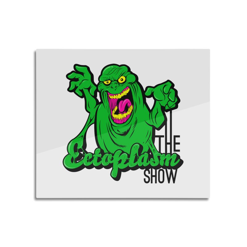Classic Logo Home Mounted Aluminum Print by EctoplasmShow's Artist Shop