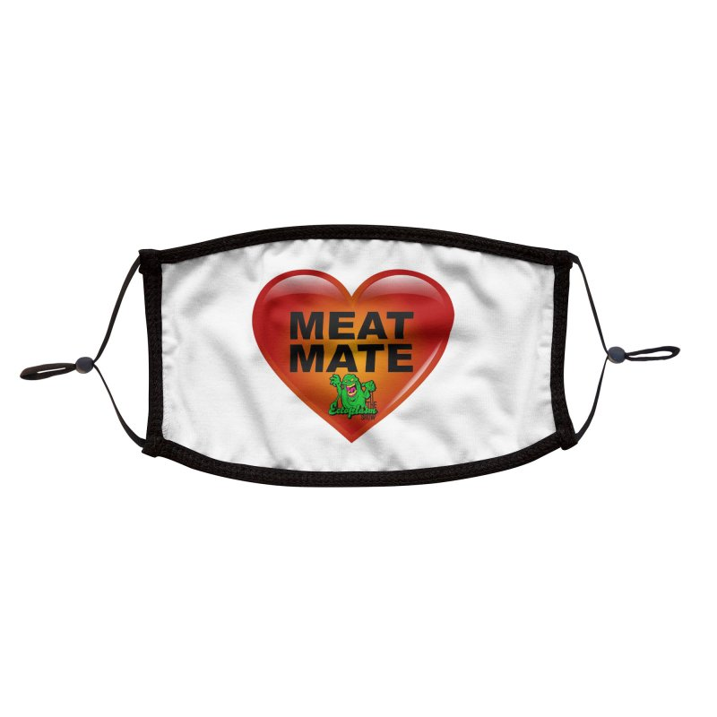 Meat Mate Accessories Face Mask by EctoplasmShow's Artist Shop