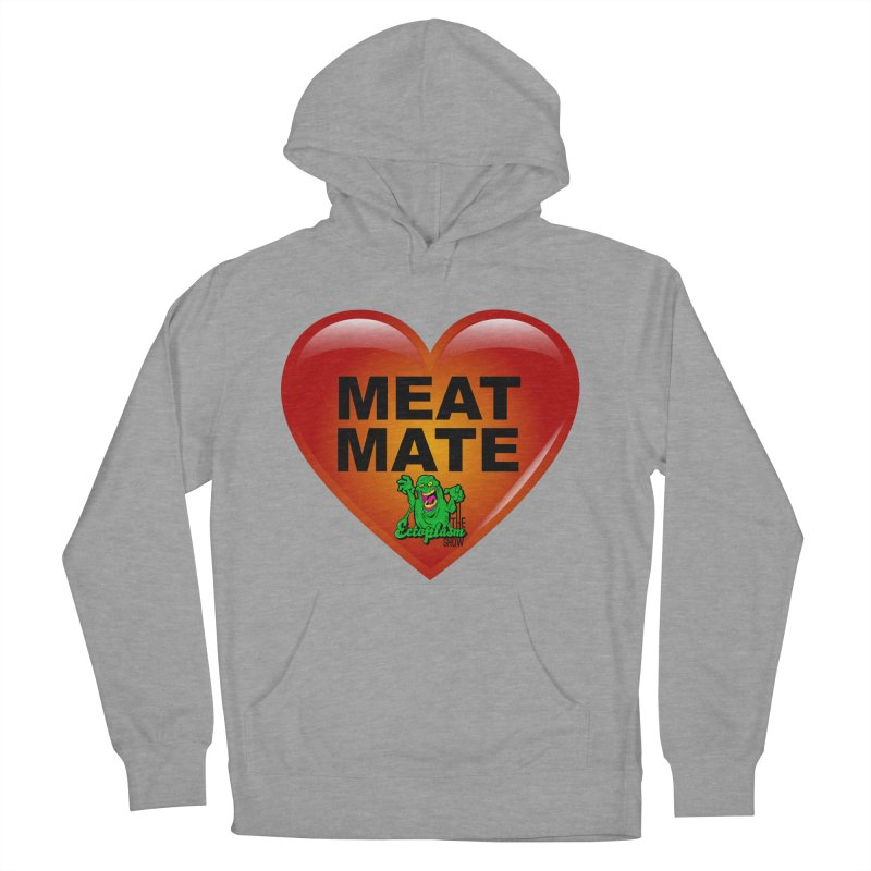 Meat Mate Men's French Terry Pullover Hoody by EctoplasmShow's Artist Shop