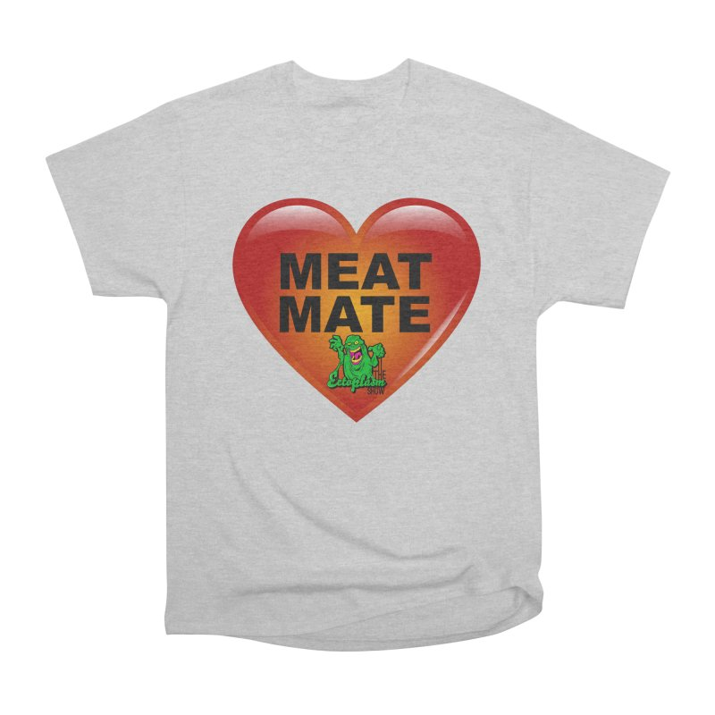 Meat Mate Men's Heavyweight T-Shirt by EctoplasmShow's Artist Shop