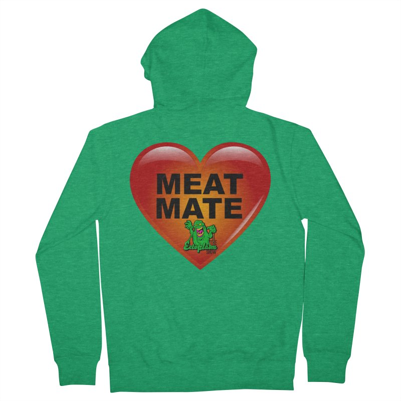 Meat Mate Men's Zip-Up Hoody by EctoplasmShow's Artist Shop