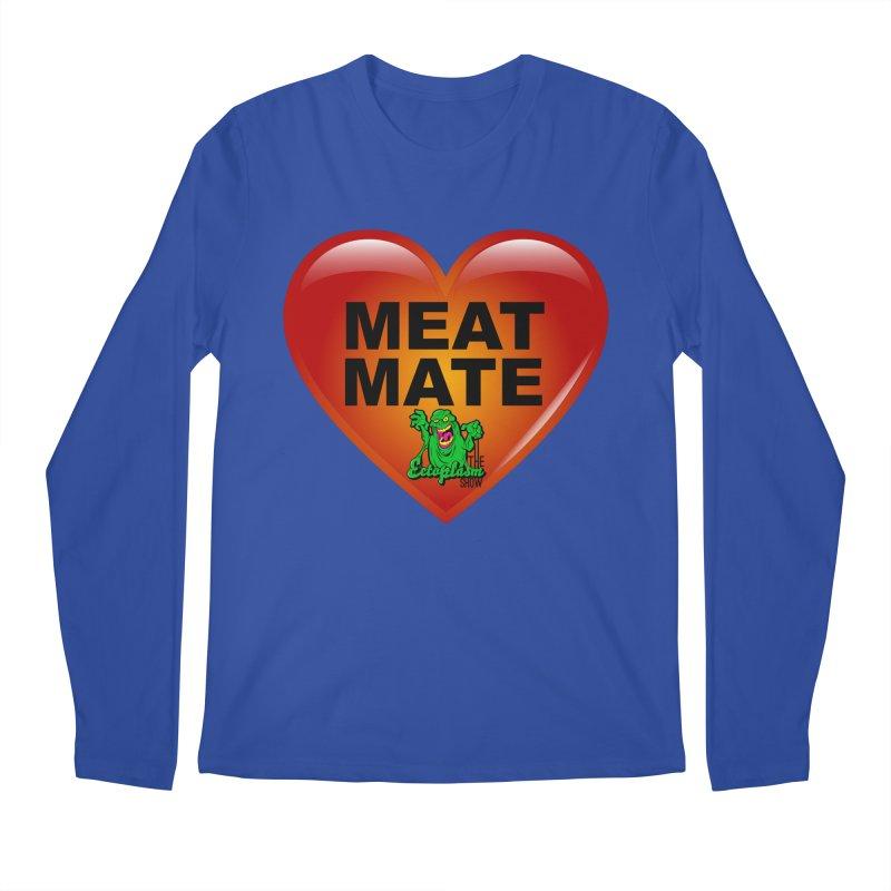 Meat Mate Men's Regular Longsleeve T-Shirt by EctoplasmShow's Artist Shop
