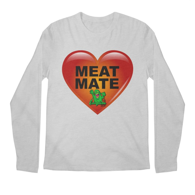 Meat Mate Men's Regular Longsleeve T-Shirt by EctoplasmShow's Artist Shop