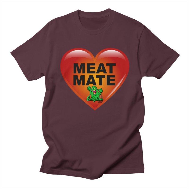 Meat Mate Men's Regular T-Shirt by EctoplasmShow's Artist Shop