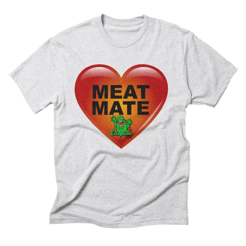 Meat Mate Men's Triblend T-Shirt by EctoplasmShow's Artist Shop