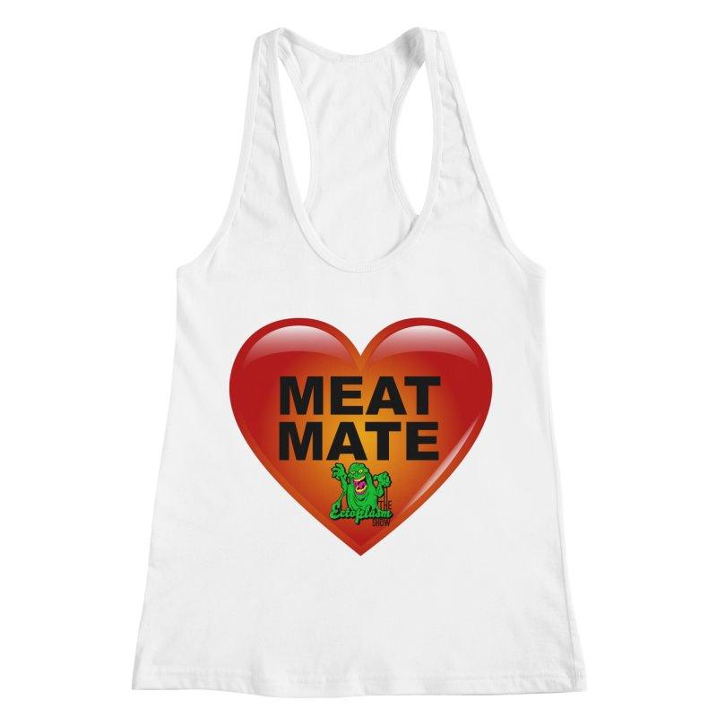 Meat Mate Women's Racerback Tank by EctoplasmShow's Artist Shop