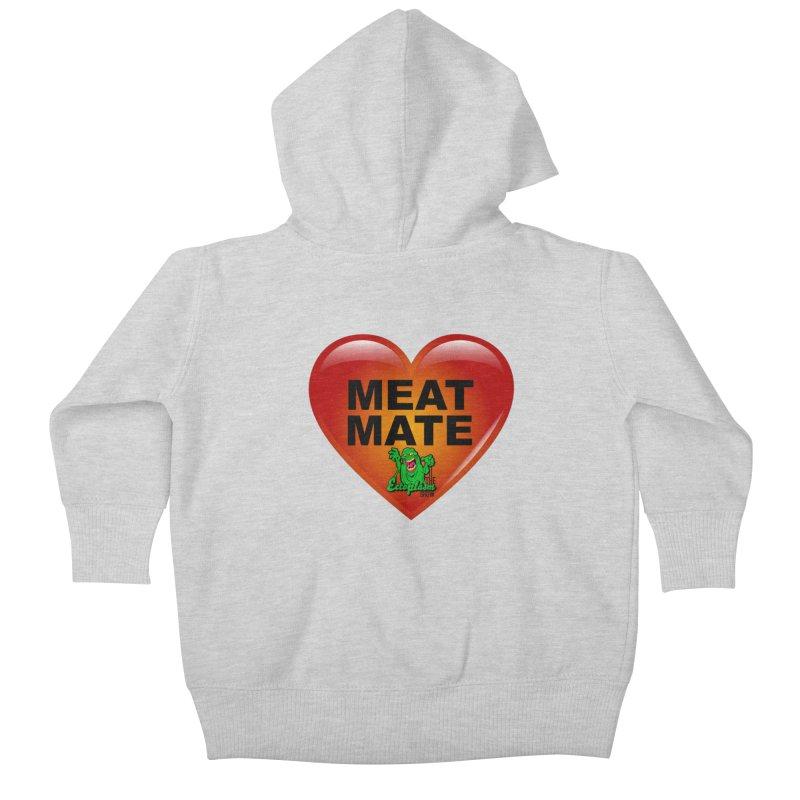 Meat Mate Kids Baby Zip-Up Hoody by EctoplasmShow's Artist Shop