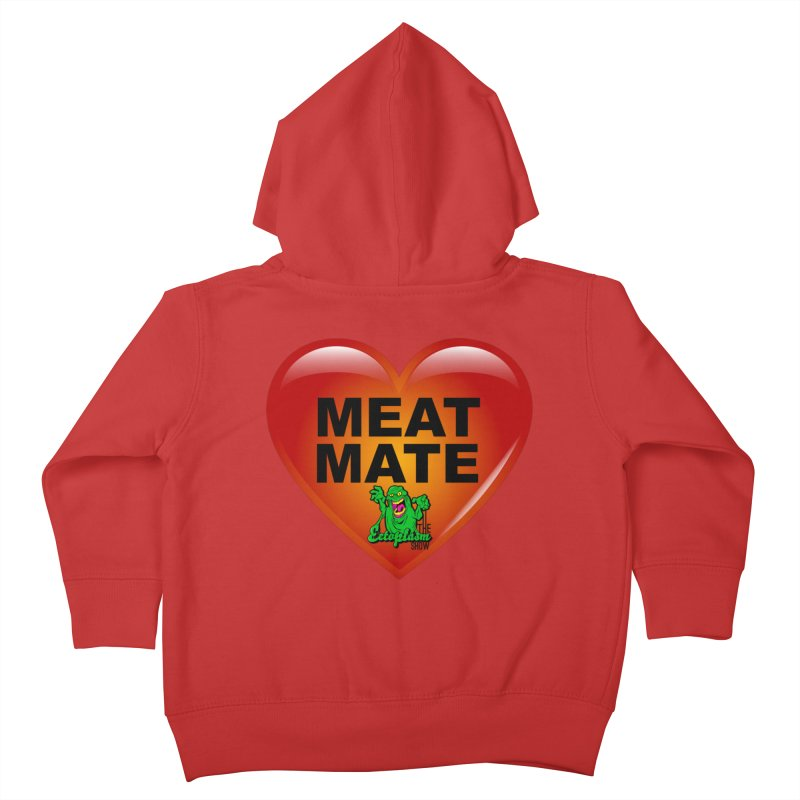 Meat Mate Kids Toddler Zip-Up Hoody by EctoplasmShow's Artist Shop