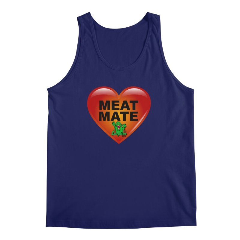 Meat Mate Men's Regular Tank by EctoplasmShow's Artist Shop