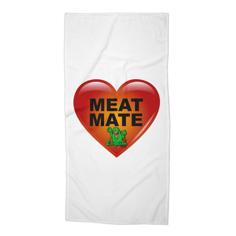 Meat Mate Accessories Beach Towel by EctoplasmShow's Artist Shop