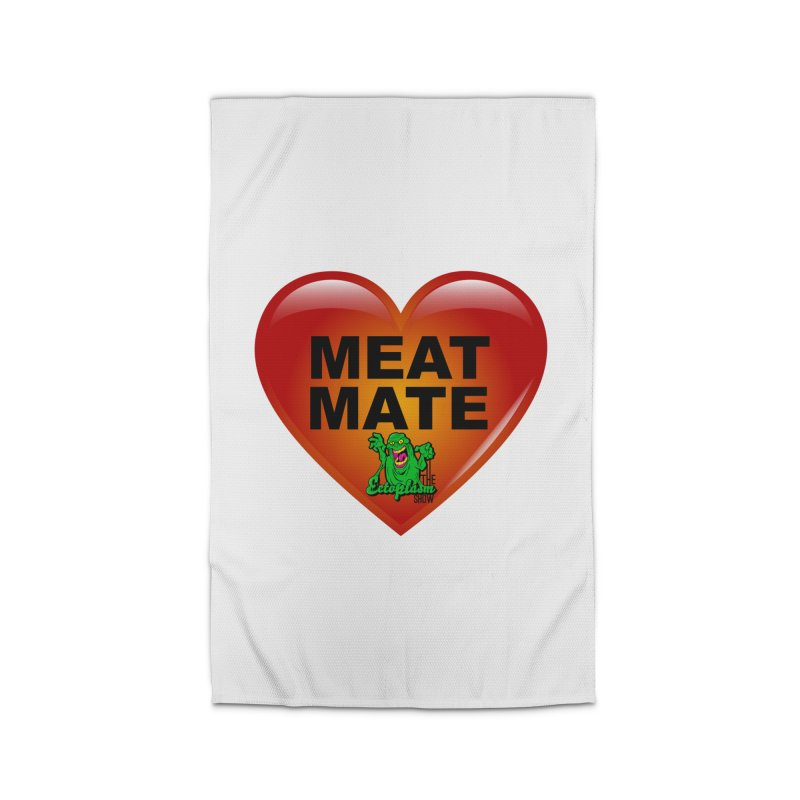 Meat Mate Home Rug by EctoplasmShow's Artist Shop