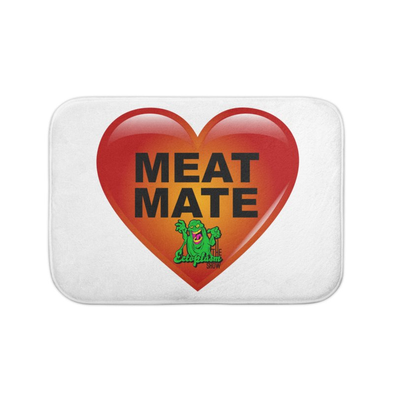 Meat Mate Home Bath Mat by EctoplasmShow's Artist Shop