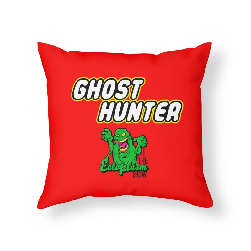 Lego Red Home Throw Pillow by EctoplasmShow's Artist Shop