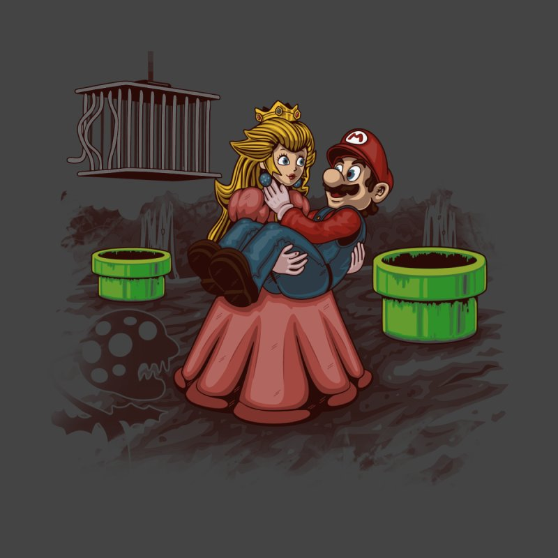 Peach! Mario Needs Your Help! Home Duvet by Arashi-Yuka