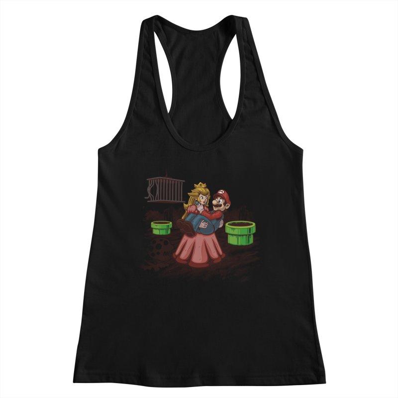 Peach! Mario Needs Your Help! Women's Tank by Arashi-Yuka