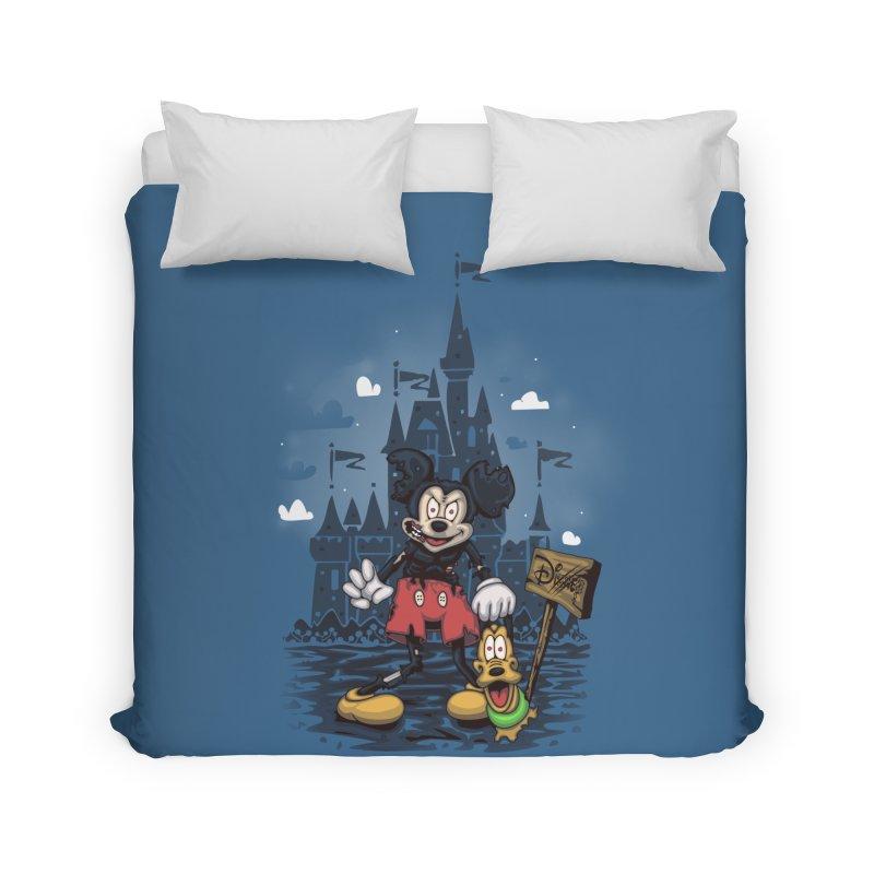 Mickey Die Home Duvet by Arashi-Yuka