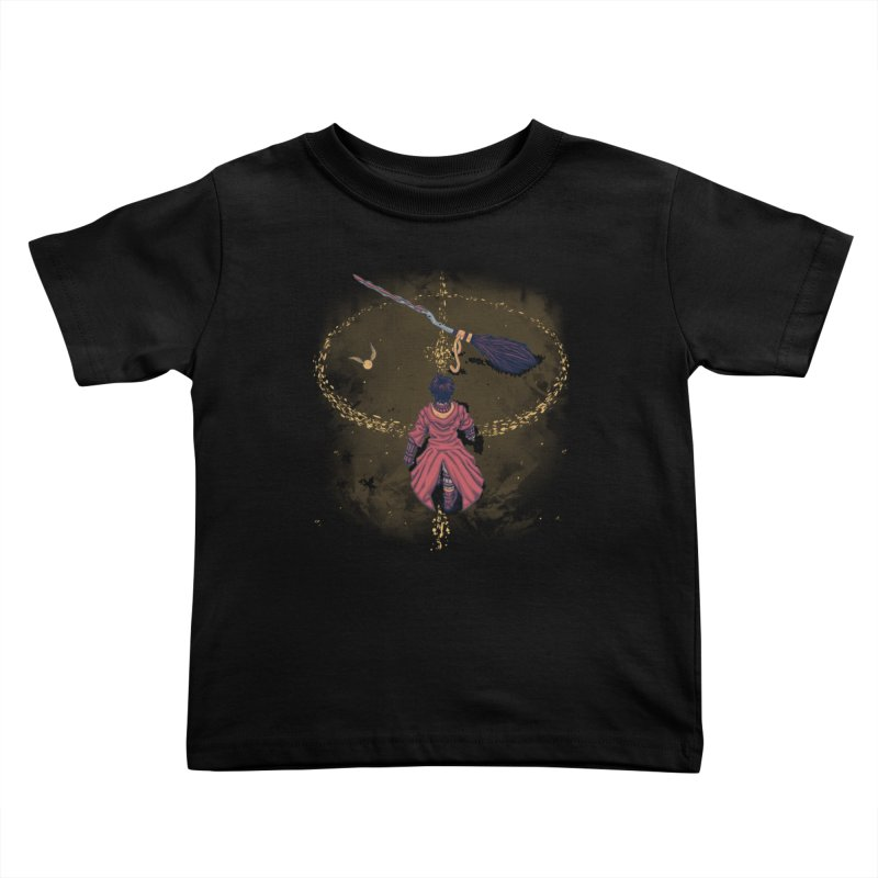 Seeker Kids Toddler T-Shirt by Arashi-Yuka