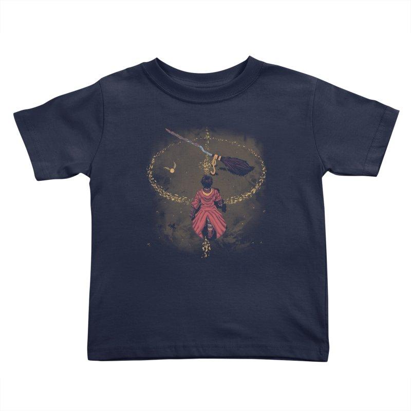 Seeker Kids Toddler T-Shirt by Arashi-Yuka
