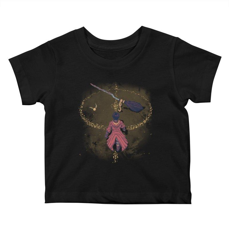 Seeker Kids Baby T-Shirt by Arashi-Yuka