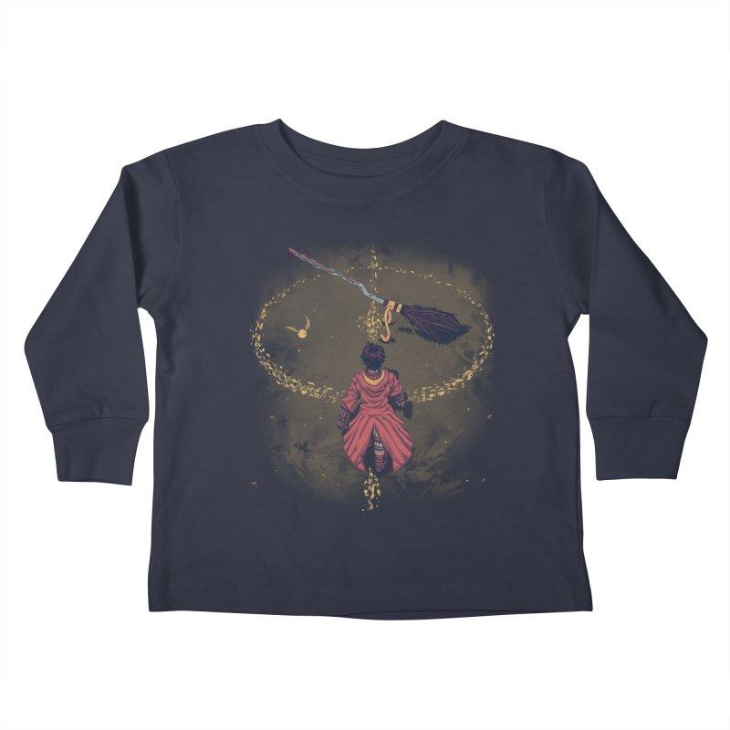 Seeker Kids Toddler Longsleeve T-Shirt by Arashi-Yuka